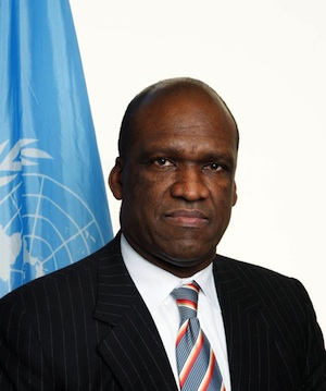 John W. Ashe, president of the 68th Session of the United Nations General Assembly. (Internet photo)